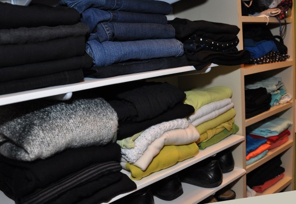 Folded-Closet