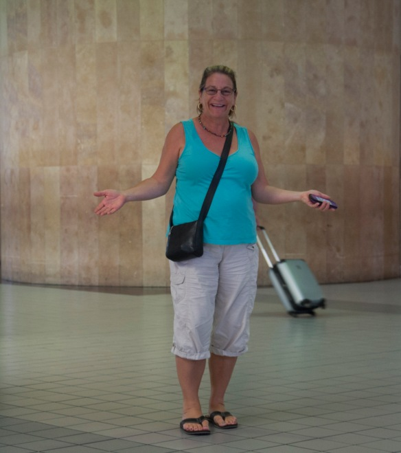 A lady I met at the airport on a different trip.