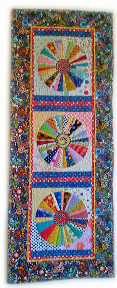 Maureen Widder's Completely Dotty quilt.
