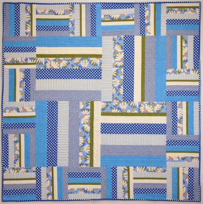 Fields and Fences from Piecing The Piece O' Cake Way, revised 2nd edition