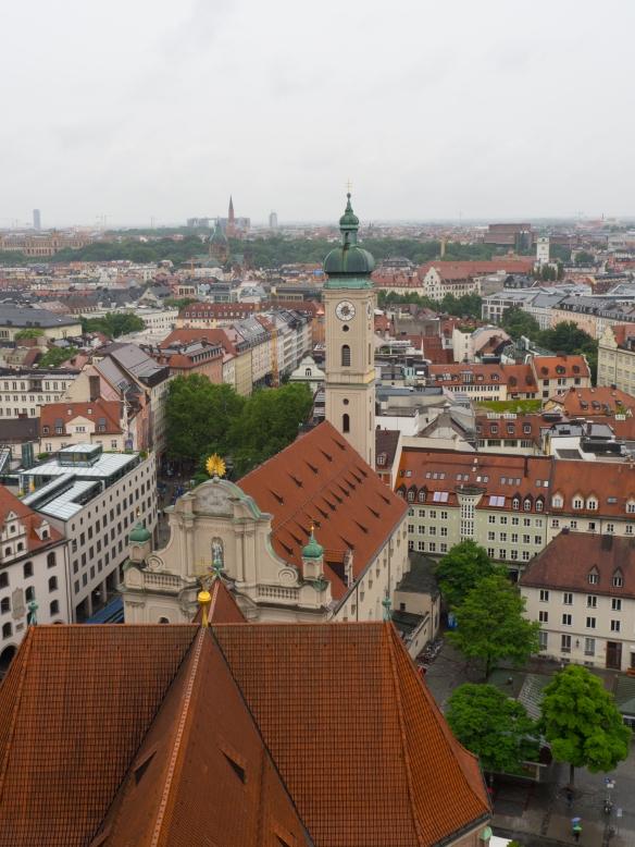 Munich City Scape