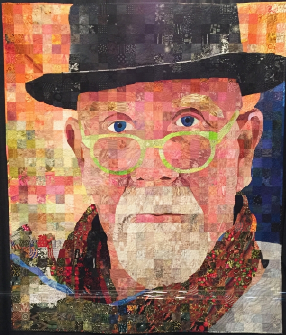 Chuck Close Two by Sandra Bruce