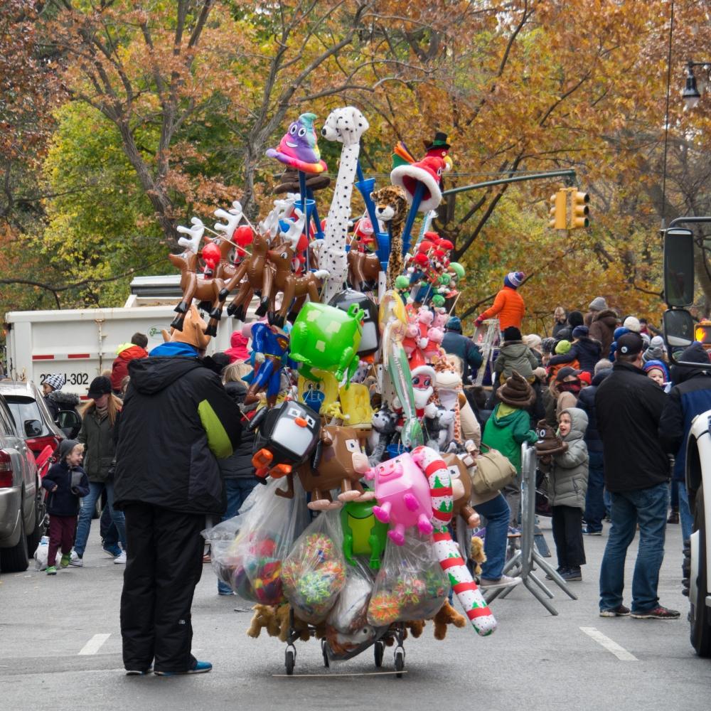 Macy's Parade 2016 - Street Vendor