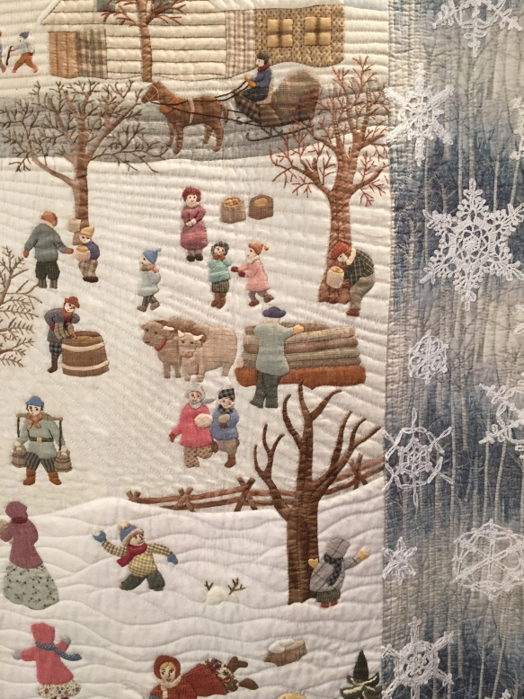 Detail of Winter Memories by Chieko Shiraishi