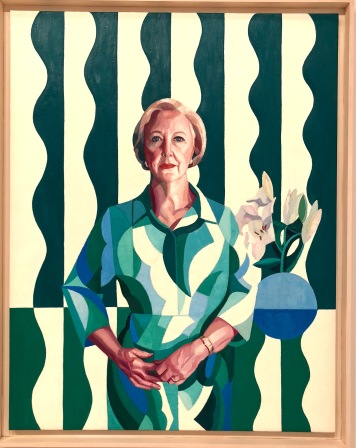 Professor Gillian Triggs by Yvette Coppersmith, Archibald Prize 2017 Competition