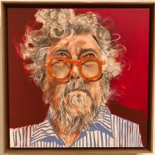 Remy QC, by William H. Luke, Archibald Prize 2017 Competition